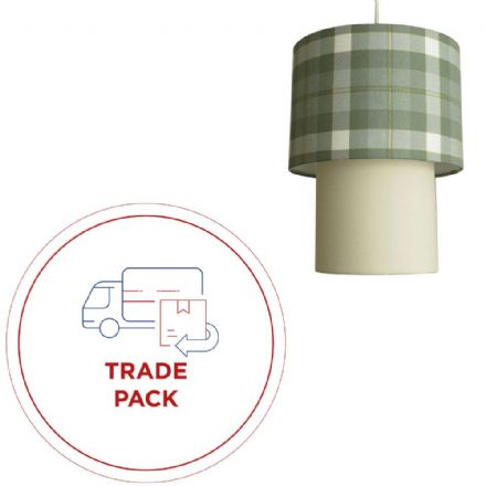 Introductory  Tiered Lampshade Trade Pack  (12kits)
